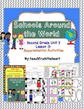 Schools Around the World (Journeys Unit 3 Lesson 13)