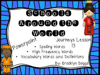Schools Around the World Powerpoint - Second Grade Journey