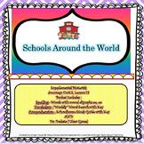 Schools Around the World Printables