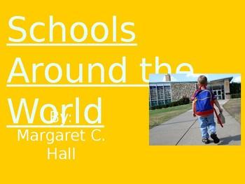 Schools Around the World - Vocabulary