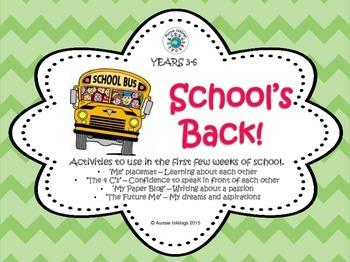 School's Back!