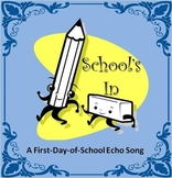 """""""School's In"""" Fun First Day of School ECHO song with hip-hop track"""
