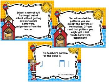 """School's Out! An """"Avoid The Teacher"""" Rhythm Game {half note}"""