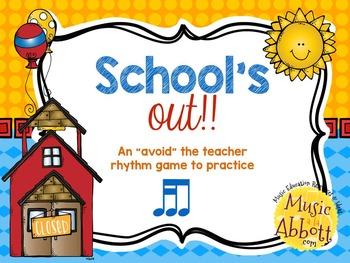 """School's Out! An """"Avoid The Teacher"""" Rhythm Game {tika-ti/"""