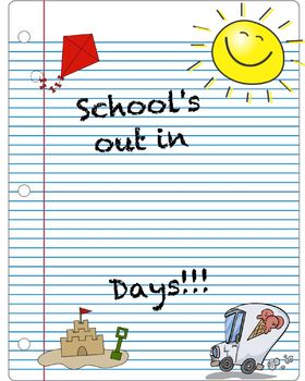 School's Out Countdown (Expo)