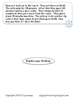 School's Out Multi-Step Word Problems