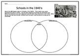 Schools in the 1940's Venn diagram