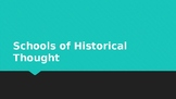 Schools of Historical Thought