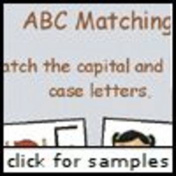 Schooltime ABC Matching (Alphabet Matching)