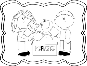 Schooltime Coloring Pages