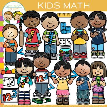 Schooltime Math Clip Art Bundle