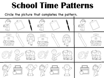 Schooltime Patterns