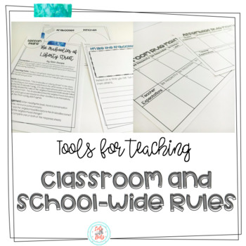 Schoolwide and Classroom Rules Pack