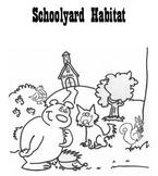 Schoolyard Habitat ecology biotic abiotic lab 6th 7th 8th grade junior high