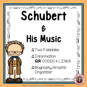 Composer Foldables: SCHUBERT