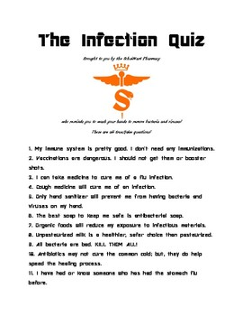 SchulMart Infection Quiz