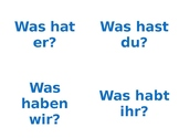 Schule Question Flashcards
