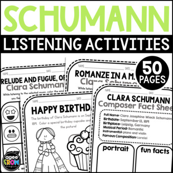 Schumann, Clara Classical Composer, September, Autumn, Handwriting, Music, Piano