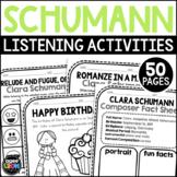 Clara Schumann Composer Listening Activities, September, Classical Music
