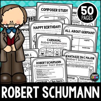 Schumann, Robert Classical Composer, June, Summer, Handwriting, Music, Piano