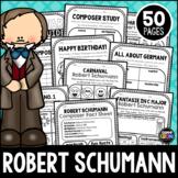Robert Schumann Composer Listening Activities, June, Classical Music