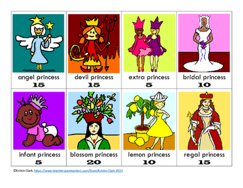 Schwa Game - The Schwa King and the Lazy Princesses - O-G