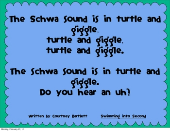 Schwa Song