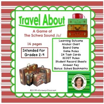 Schwa Sound: a file folder game
