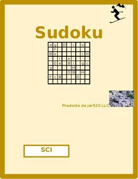 Sci (Skiing in Italian) Sudoku