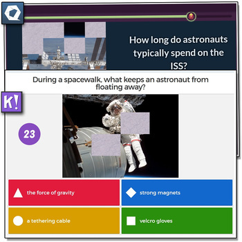 SciShow Kids, Astronauts and the ISS - Quizizz and Kahoot!