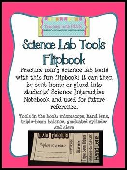 Science Lab Tools Flipbook