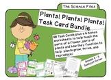 Science Files - Plants! Plants! Plants! Plant Life Task Card Bundle
