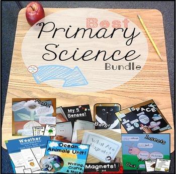 NGSS Science for Kindergarten, 1st, & 2nd Grade
