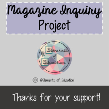 Science 10 Semester Long Inquiry Project (PBL)