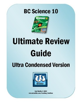 Science 10 Visual Study Guide and Condensed Text