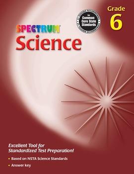 Spectrum Science Grade 6 SALE 20% OFF! 0769653669