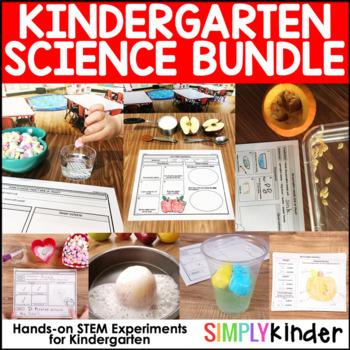 Kindergarten Science Bundle