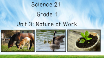 Science 21 - First Grade - Unit 3: Nature at Work
