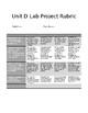 Science 24 Unit D Project