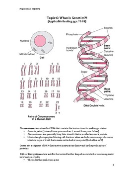 Science 30 Unit A Part 2: Genetics