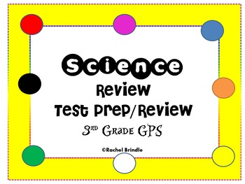 Science 3rd Grade Review