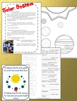 NGSS Science Bundle 4th, 5th, 6th | Circuits, Space, Food Chains, Magnets, Rocks
