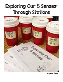Science- 5 Senses Booklet, Stations/Centres