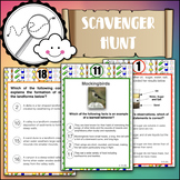 Science STAAR Test Prep: 5th grade Scavenger Hunt (Version 1)