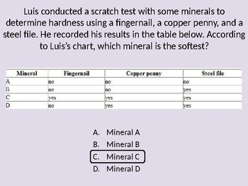 Science 76-Slides PowerPoint Review for FL 5th Grade Standardized Test FCAT SSA