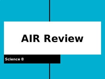 Science 8 Air Review PPT