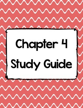 Science A Closer Look Ch. 4 Study Guide & Test