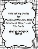 Science A Closer Look Note Taking Guide Ch. 1