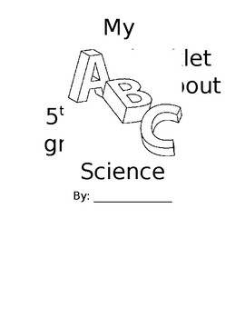 Science ABC Booklet