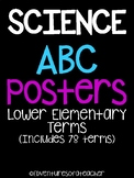 Science ABC Posters